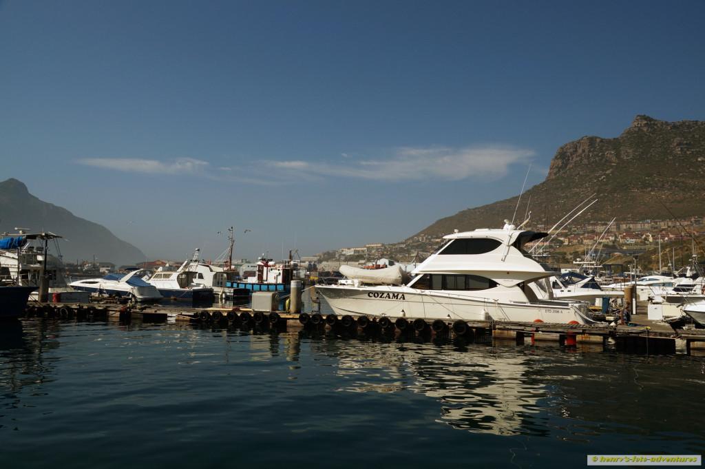 Bootsfahrt zu den Duiker Islands
