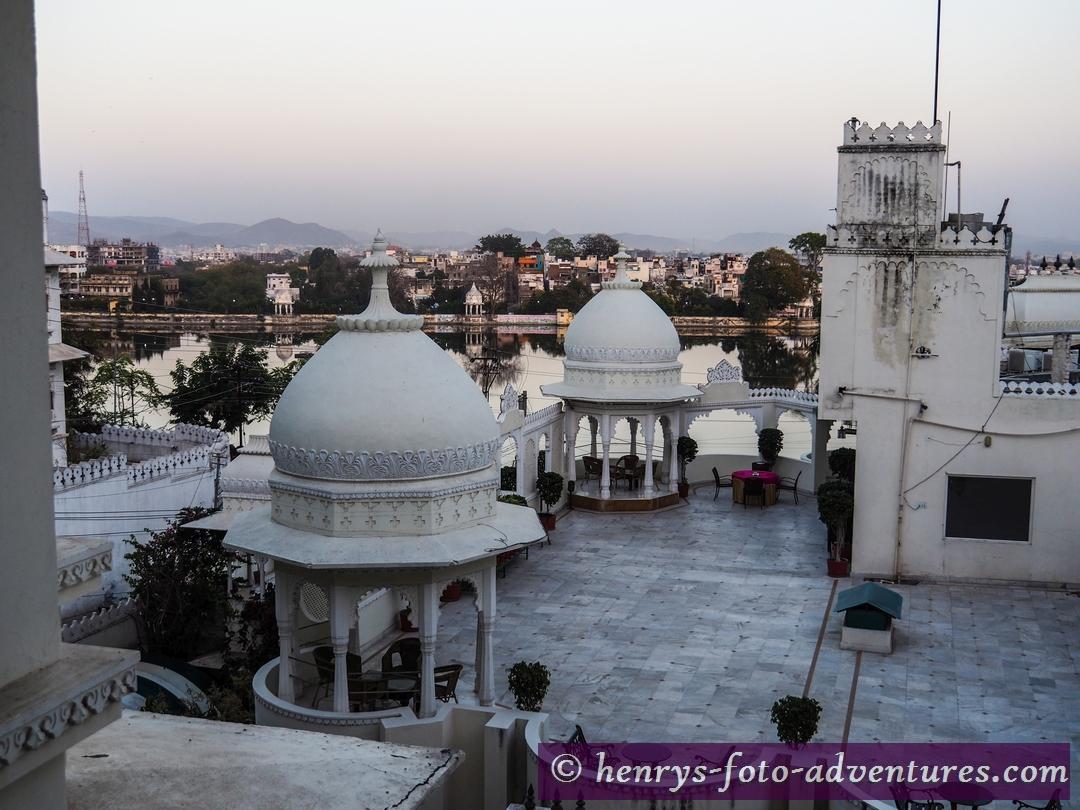 unser Heritage Hotel in Udaipur - Swarop Sagar See