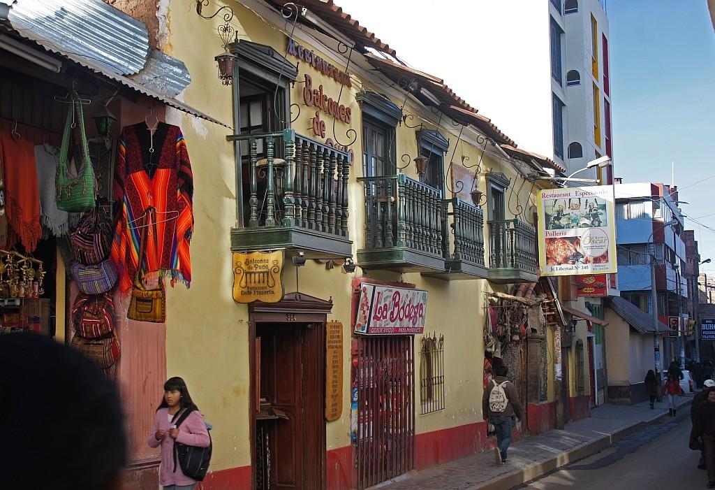 Strassenleben in Puno
