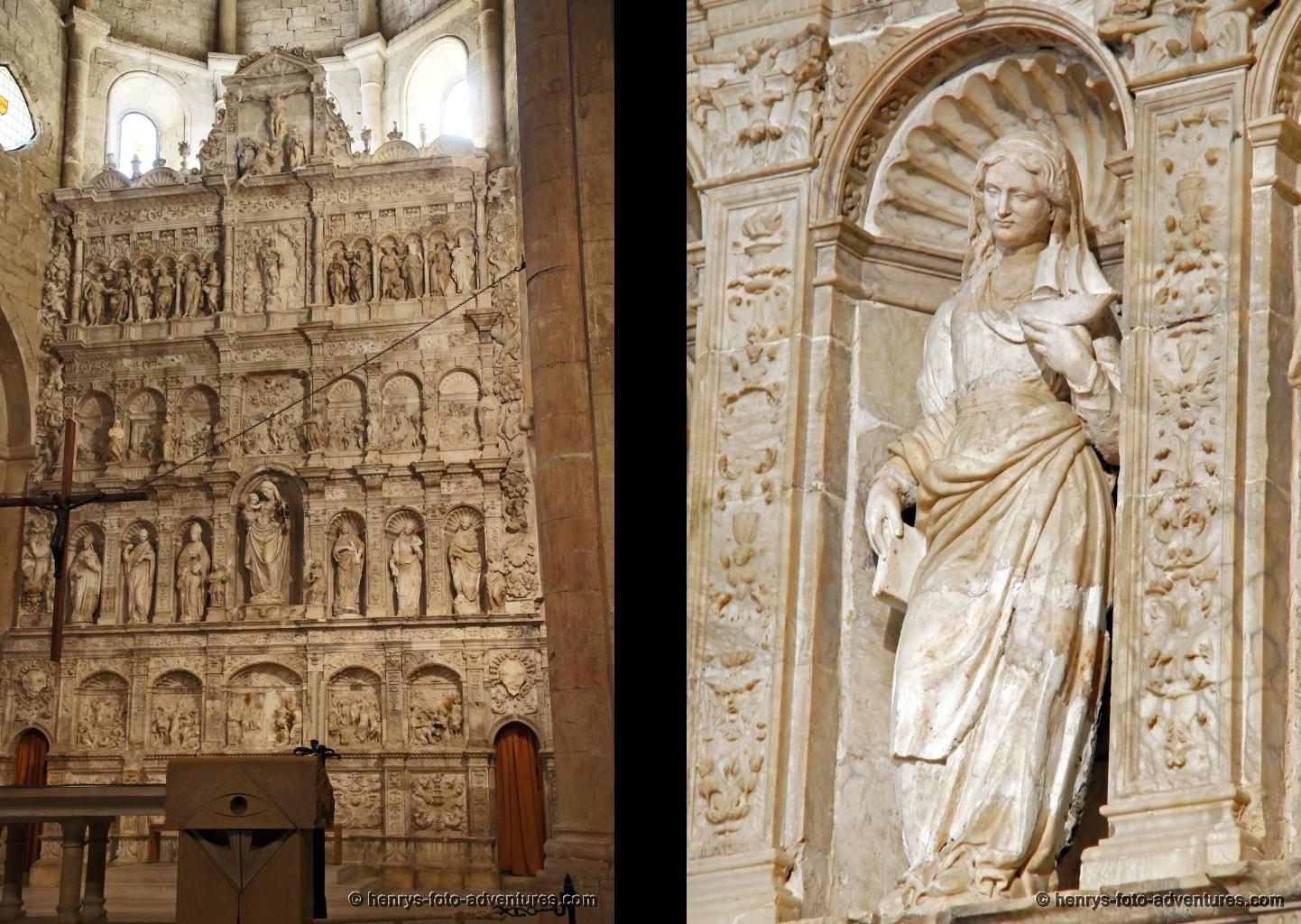 der gotische Steinaltar