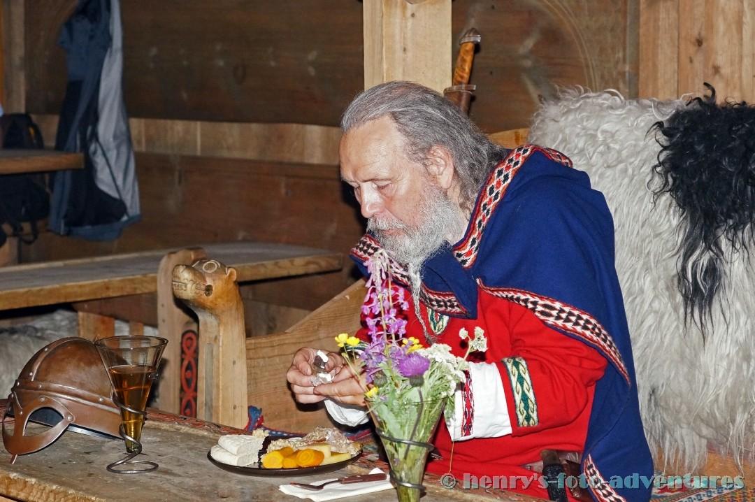 Abendessen mit einem Wikingerkönig