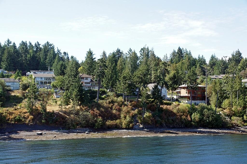 nette Wochenendhäuser der Reichen Vancouvers