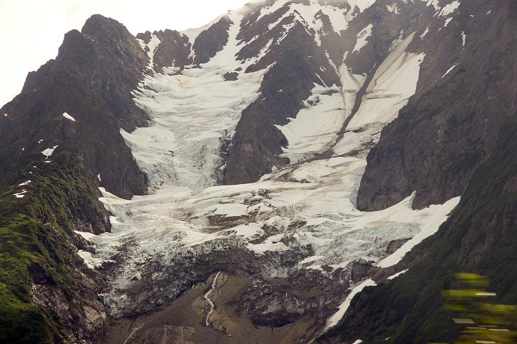 auch hier werden die Gletscher immer kleiner
