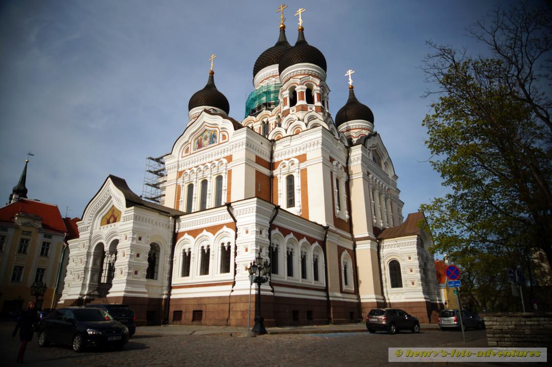 die russisch orthodoxe ALEXANDER NEVSKI Katrhedrake