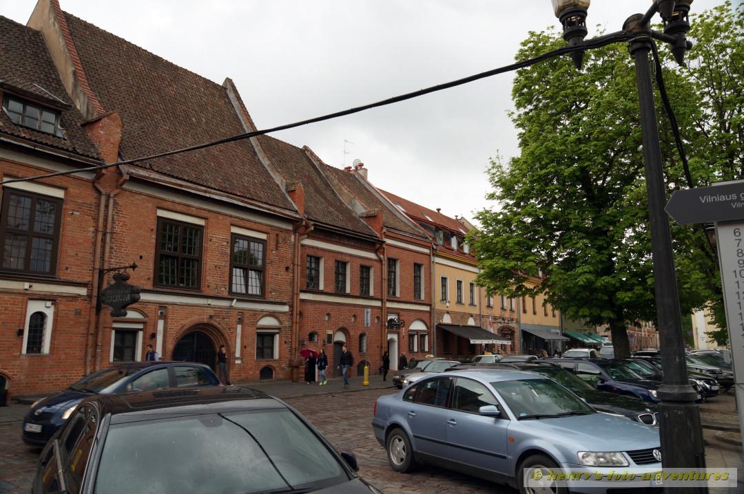 die Vilniaus Gatve, Einkaufsstraße mit vielen kleinen Restaurants und Kaffees