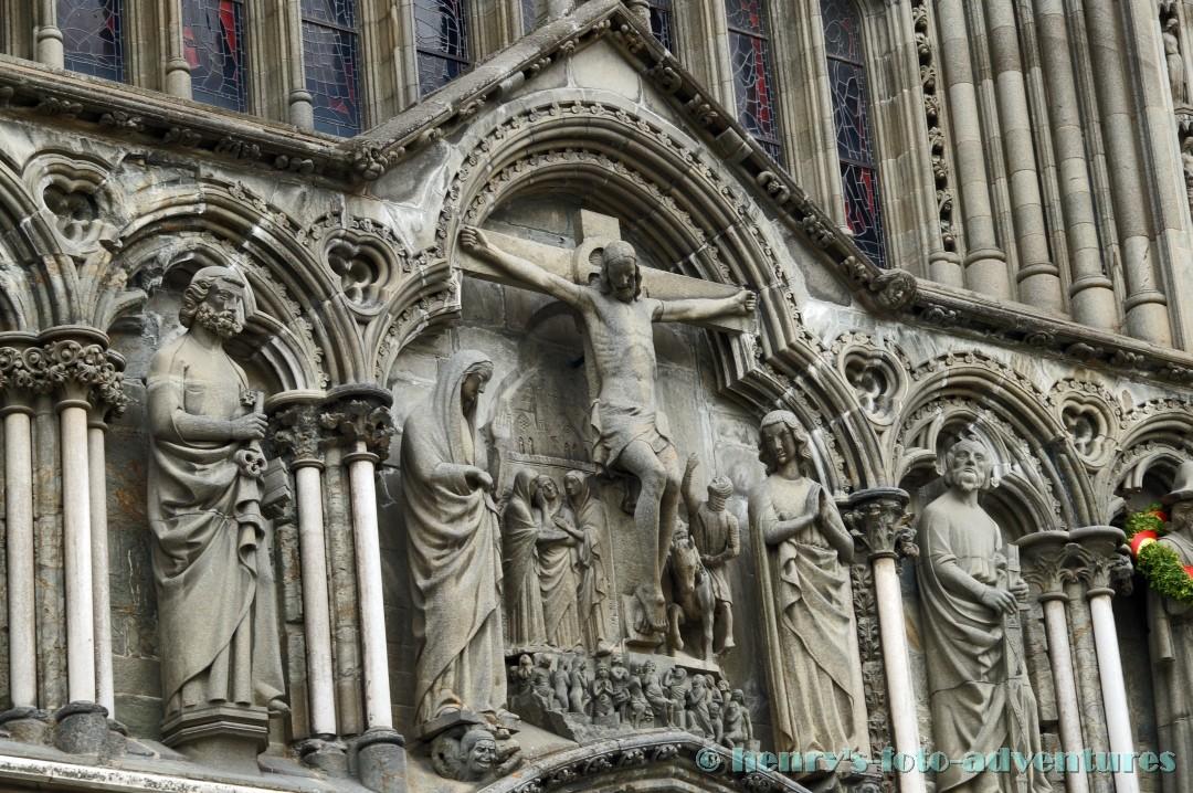 ein eindrucksvoller Bau der Gotik