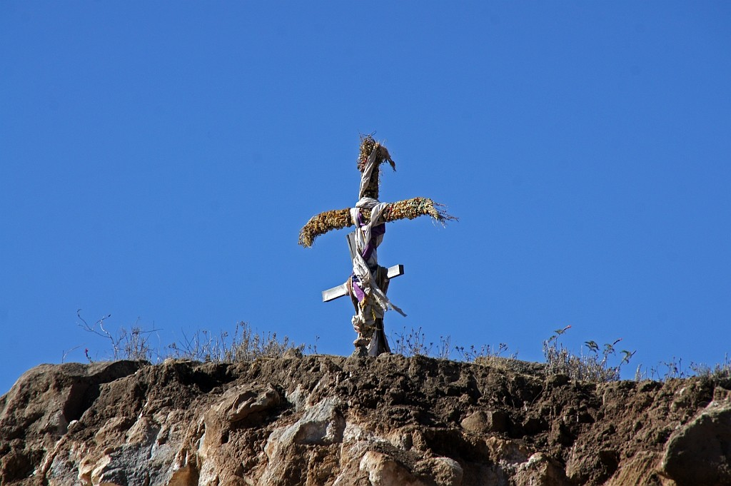 am Cruz de Condor warten wir auf das Austeigen der Condore