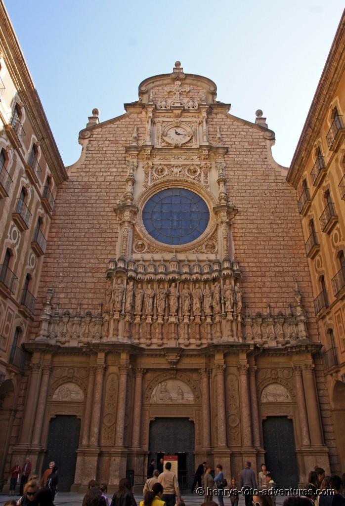 der Eingang in die Basilika