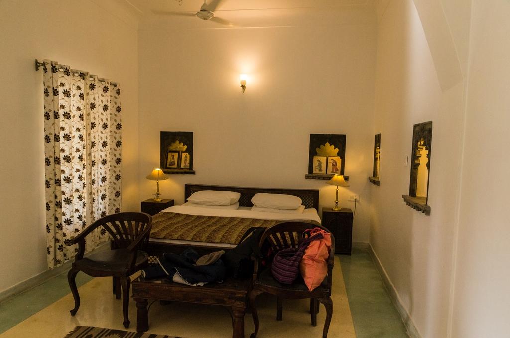 """Bijaipur, """"Hotel Castle Bijaipur"""", Zimmer o.k. und tolles Essen"""