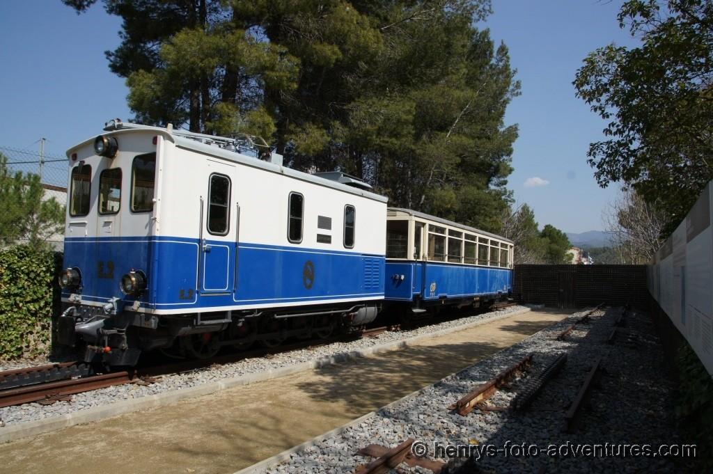 ein historischer Zug