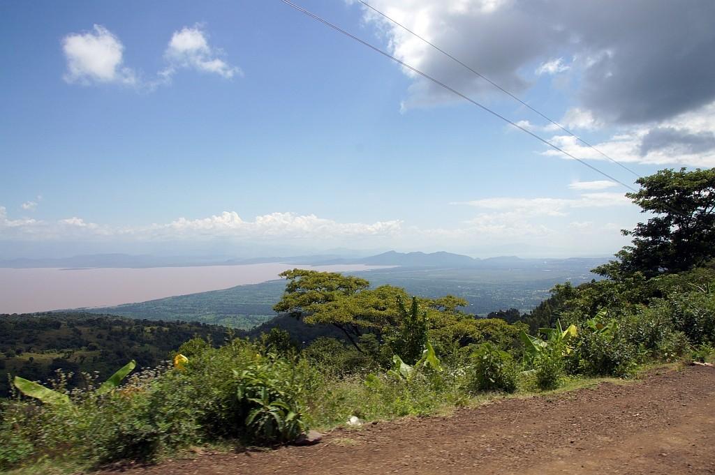 Blick auf den Lake Chamo