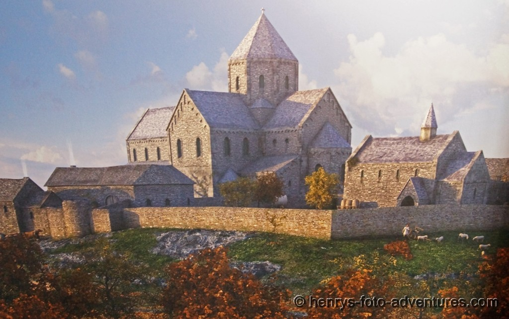 Bild von dem von ihr gegründeten Kloster