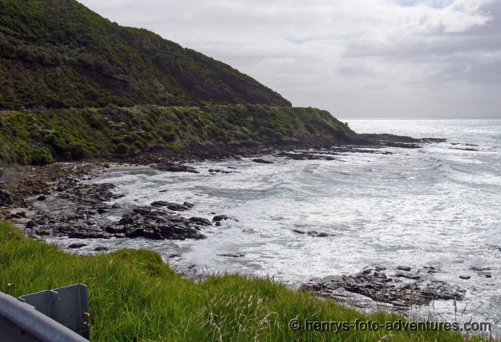 eine wilde Küste