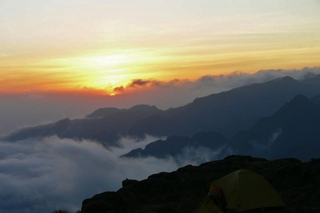 Blick auf den Mt. Meru