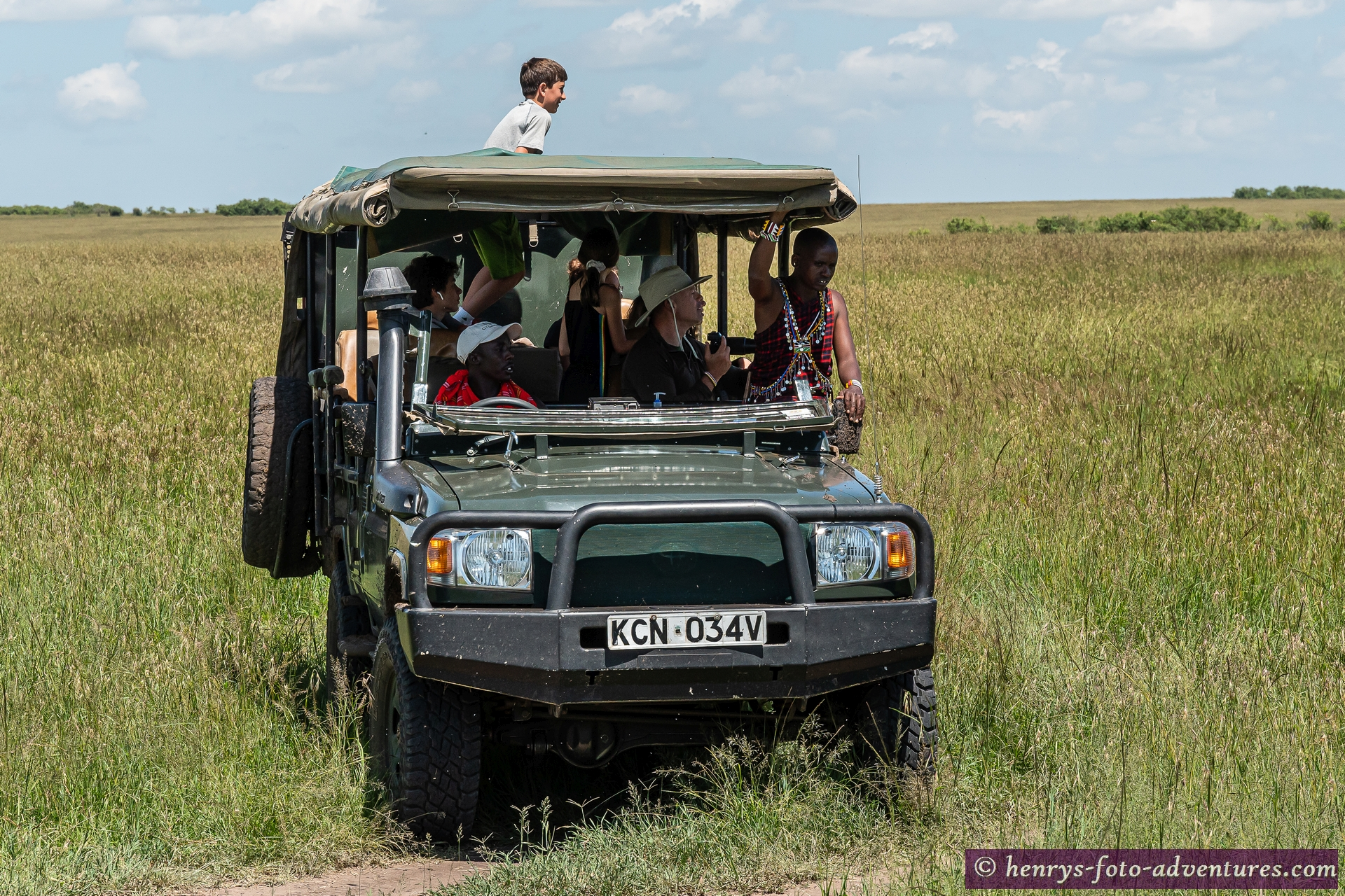 sie haben einen Masai-Guide geucht