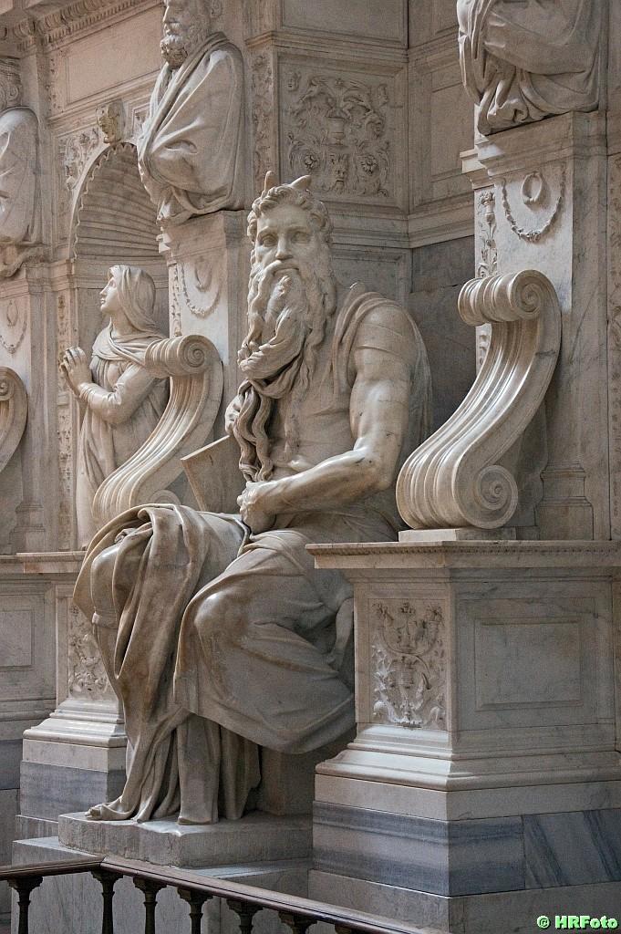 Mosesstatue von Michaelangelo