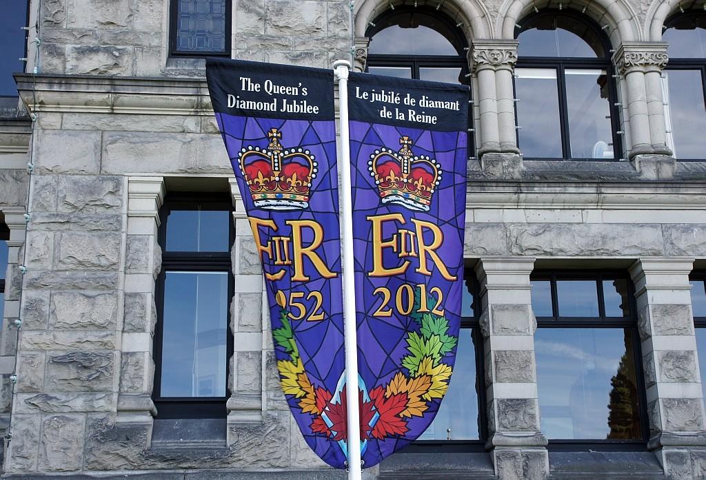 die 60-jährige Regentschaft von Königin Elisabeth wird auch hier gefeiert