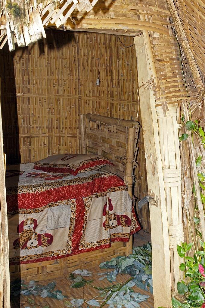 Schlafstelle ohne Komfort
