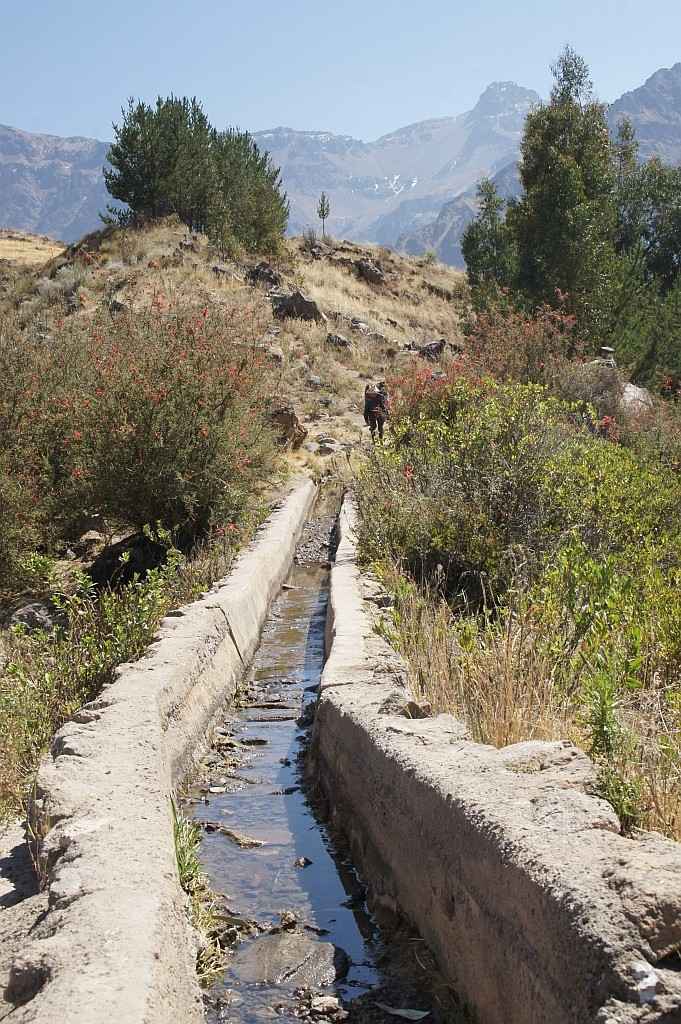 Levaden, künstliche Bewässerung