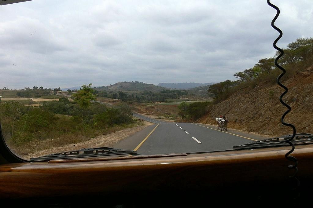 Fahrt zum Korongoro Krater