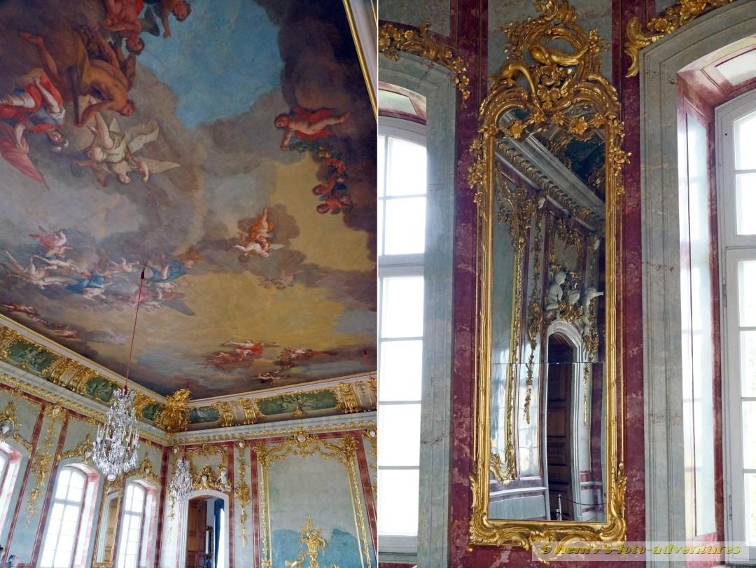 beeindruckenden Deckenmalereien