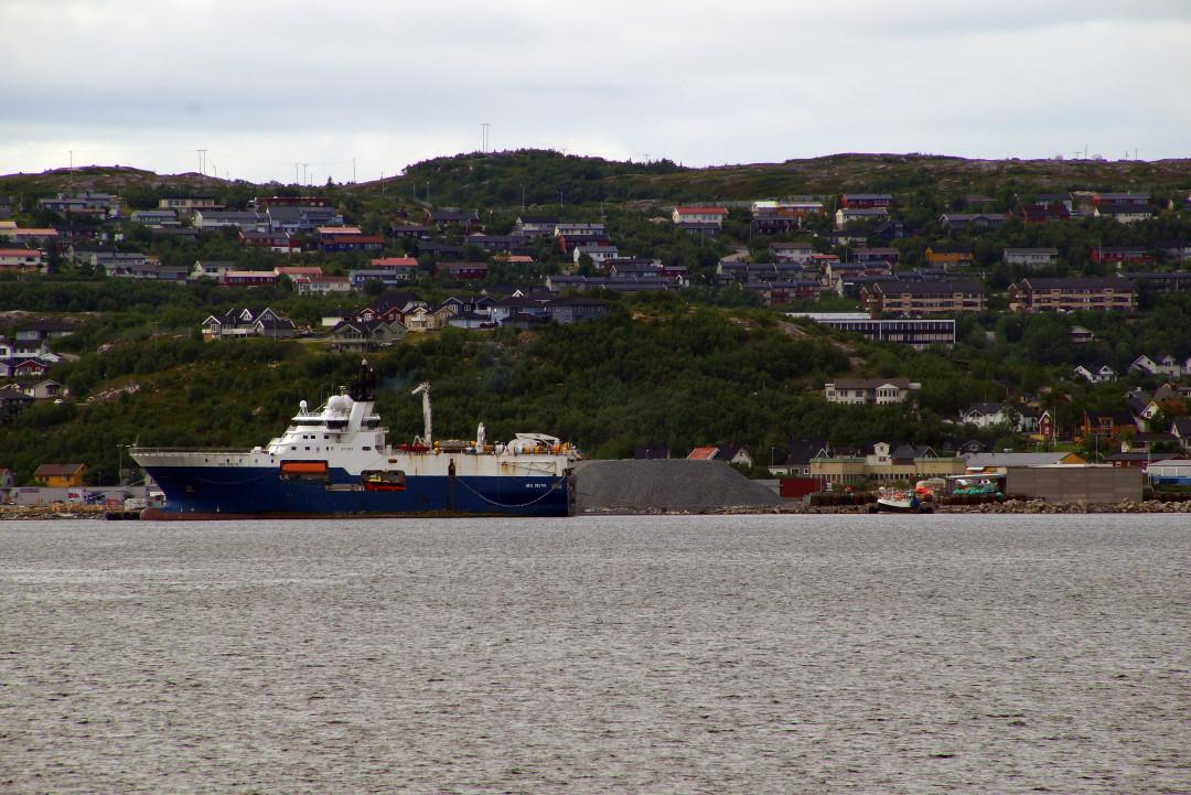 Ankunft in Kirkenes