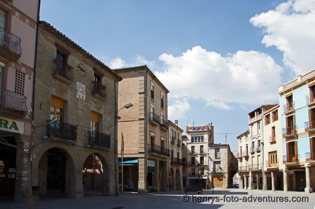 das Städtchen Santa Coloma de Queralt