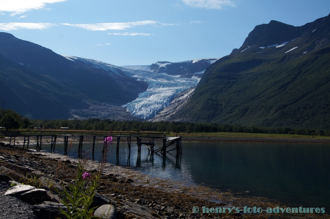 der Svartisen ist der zweitgrößte Gletscher Norwegens