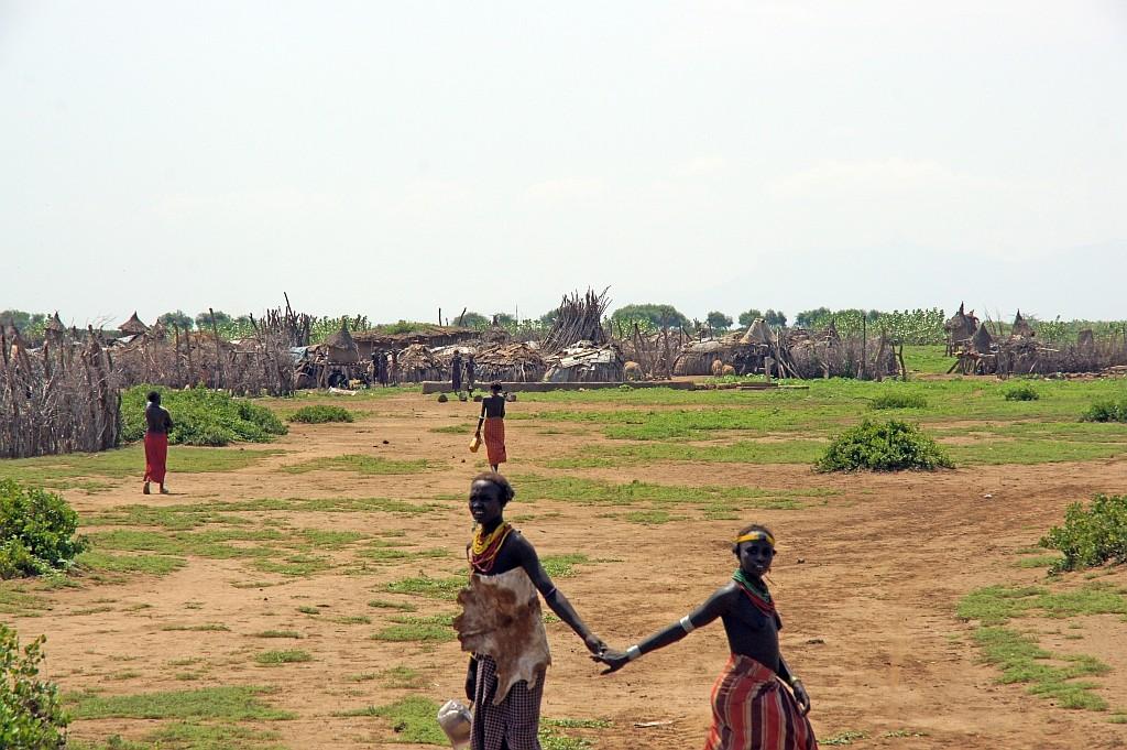 das Dorf der Geleb