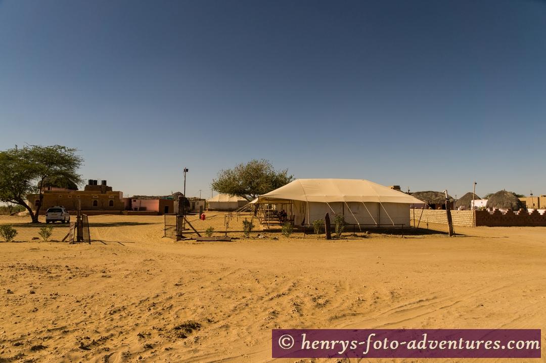 unser Zelt-Camp
