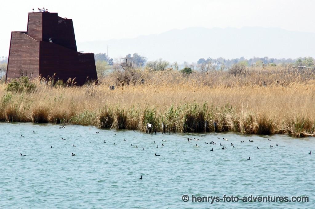 Turm zur Vogelbeobachtung