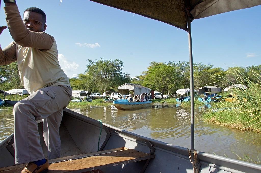 Bootsfahrt auf dem Lake Chamo