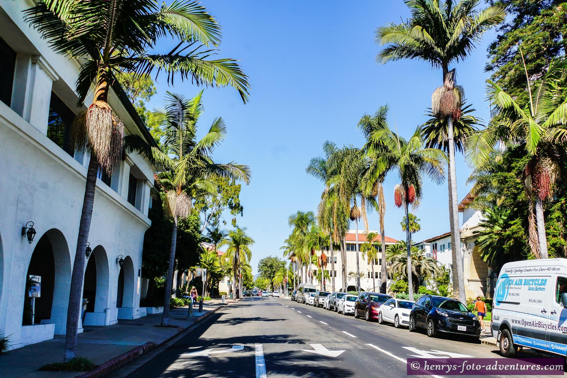 die Stadt Santa Barbara