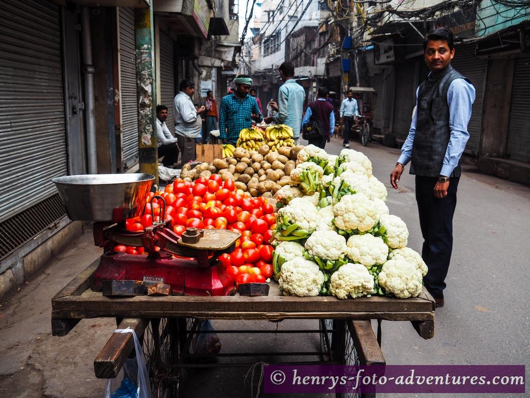wir besuchen den Markt