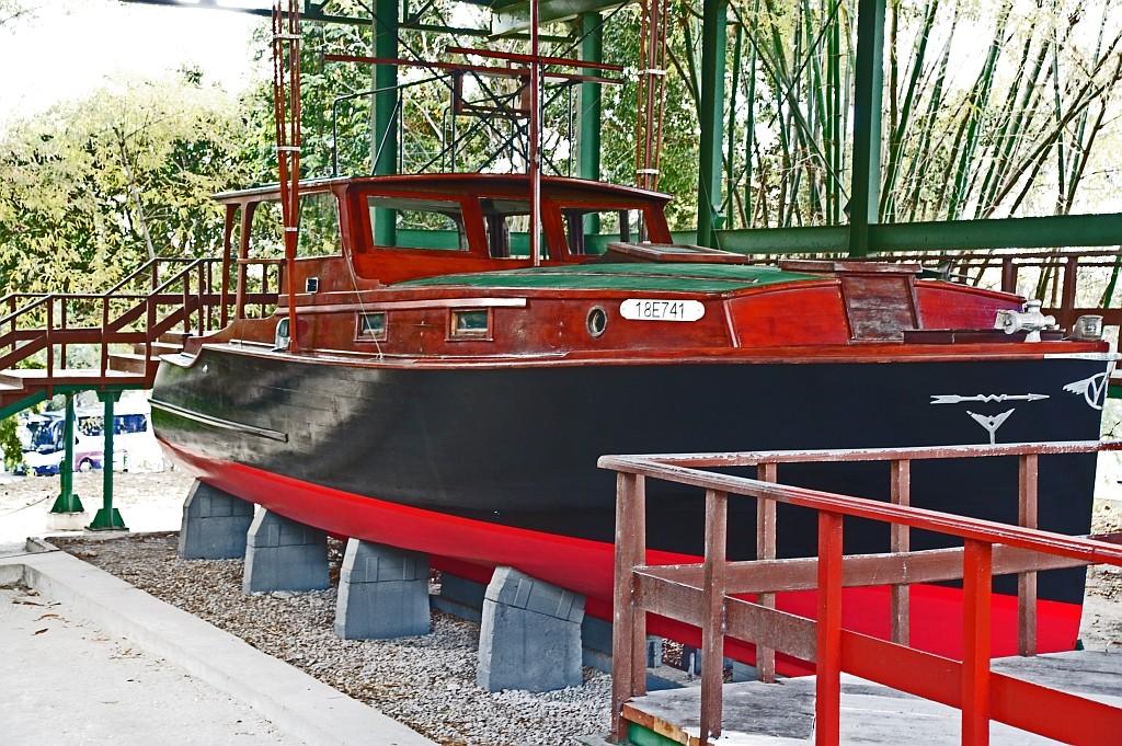"""sein Boot, die """"PILAR"""""""