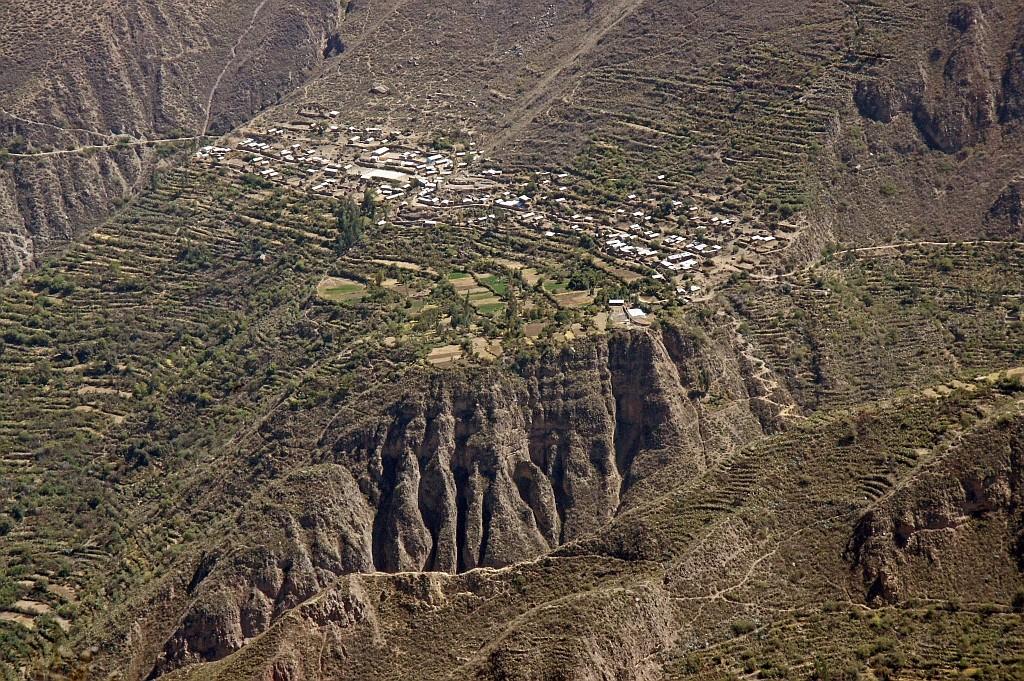 schwer erreichbare Dörfer