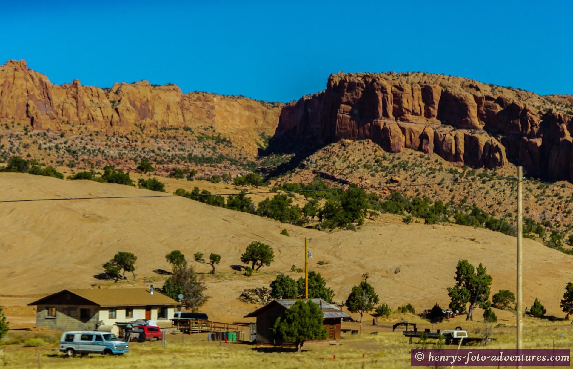 wir sind hier im Land der Navajos
