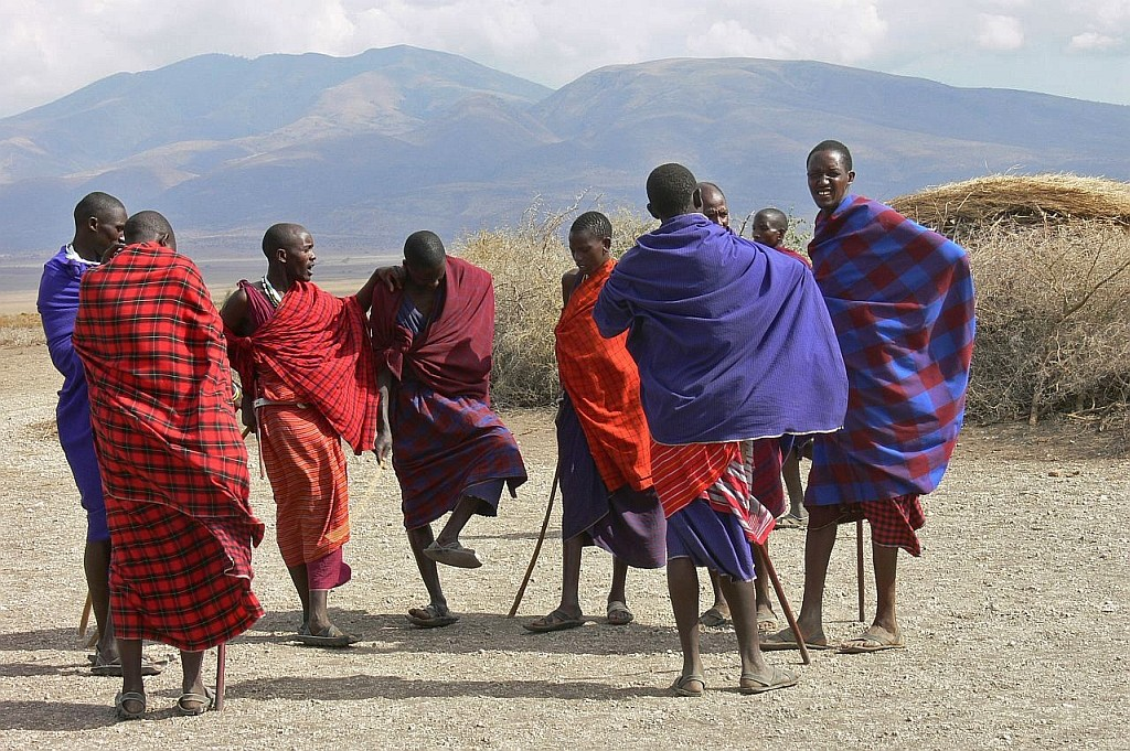 Massai-Krieger