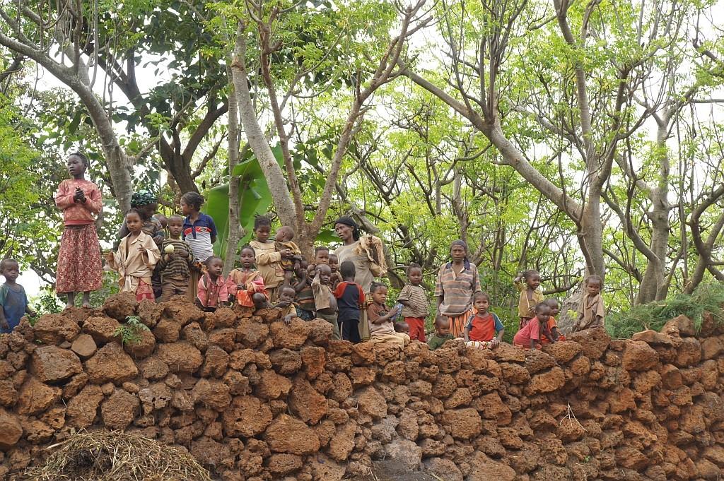 wir besuchen ein Dorf der Konso