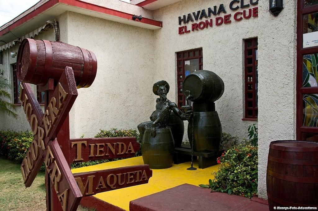 im Havanna-Club Rummuseum