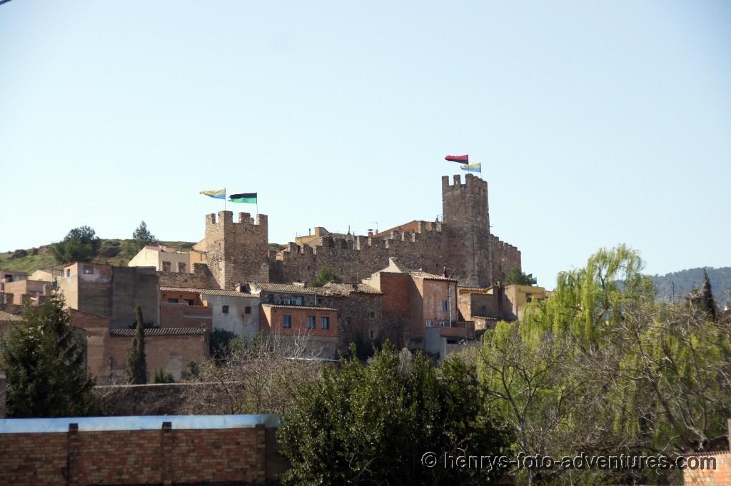 Blick auf die Stadtmauer
