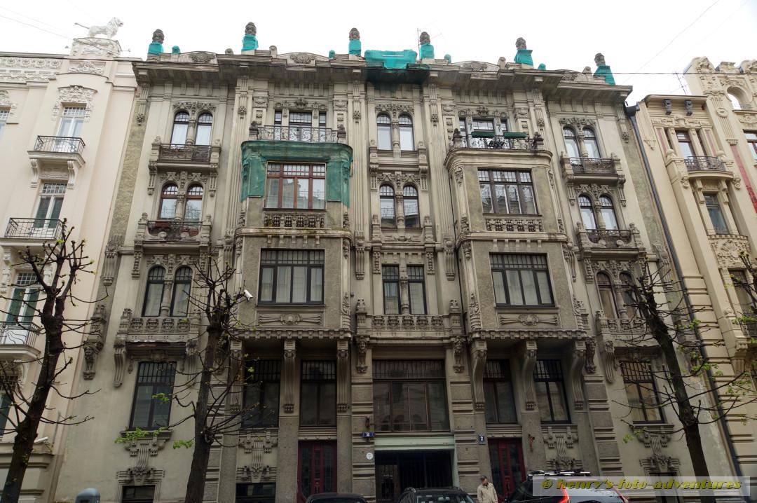 der berühmteste Architekt war Michael Eisenstein 1867-1921