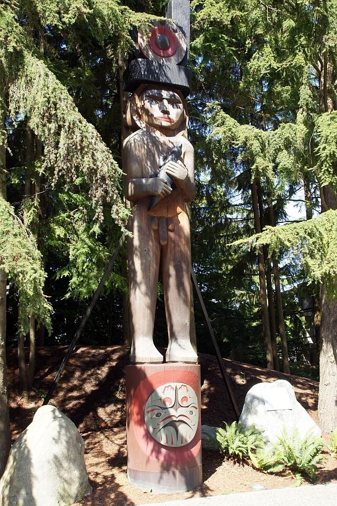 Besuch im Antropologischen Museum von Vancouver