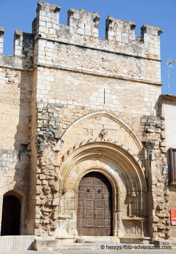 das romanische Portal