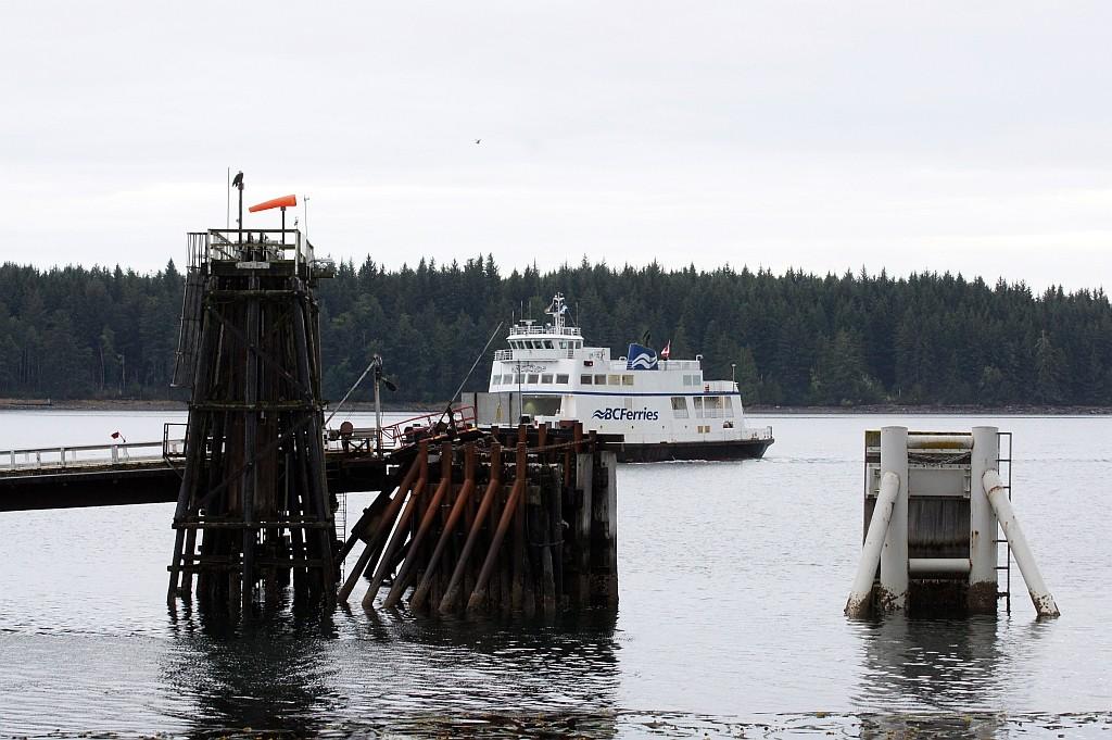 die Fähre Port McNeill - Alert Bay