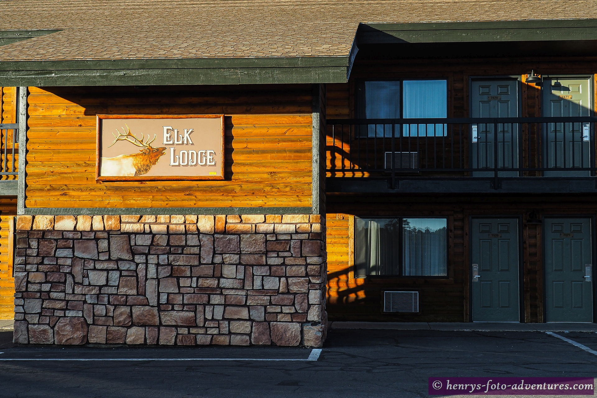 gut untergebracht in Ruby's Inn