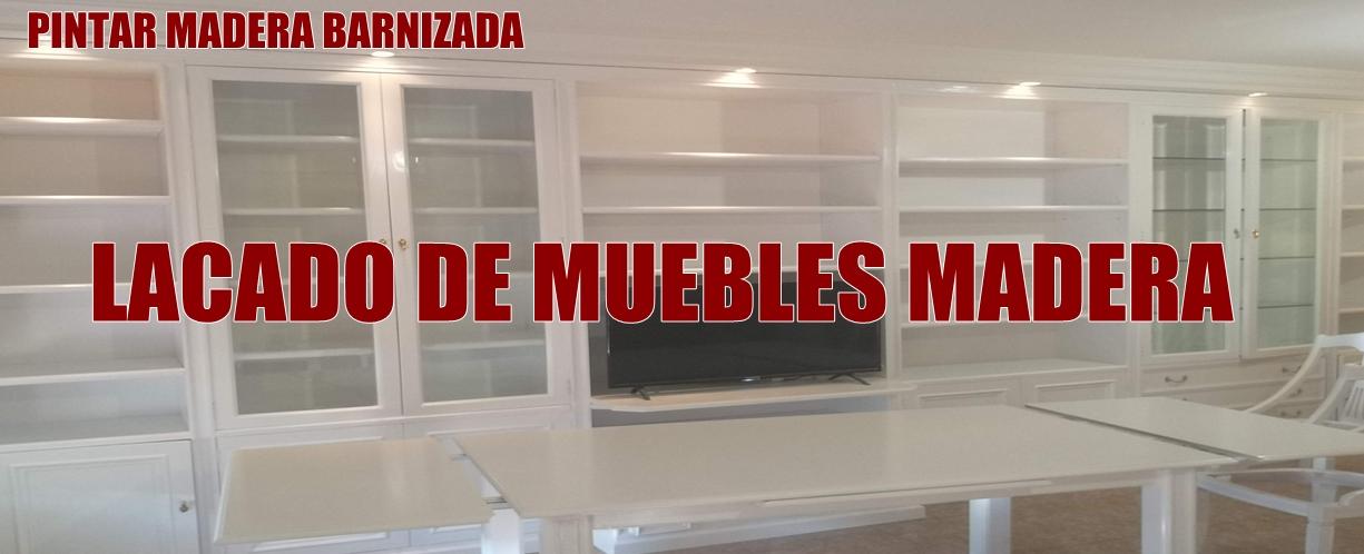 Pintar muebles Madrid
