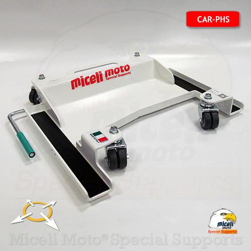 Produzione cavalletti miceli moto carrelli sposta moto for Carrello sposta auto