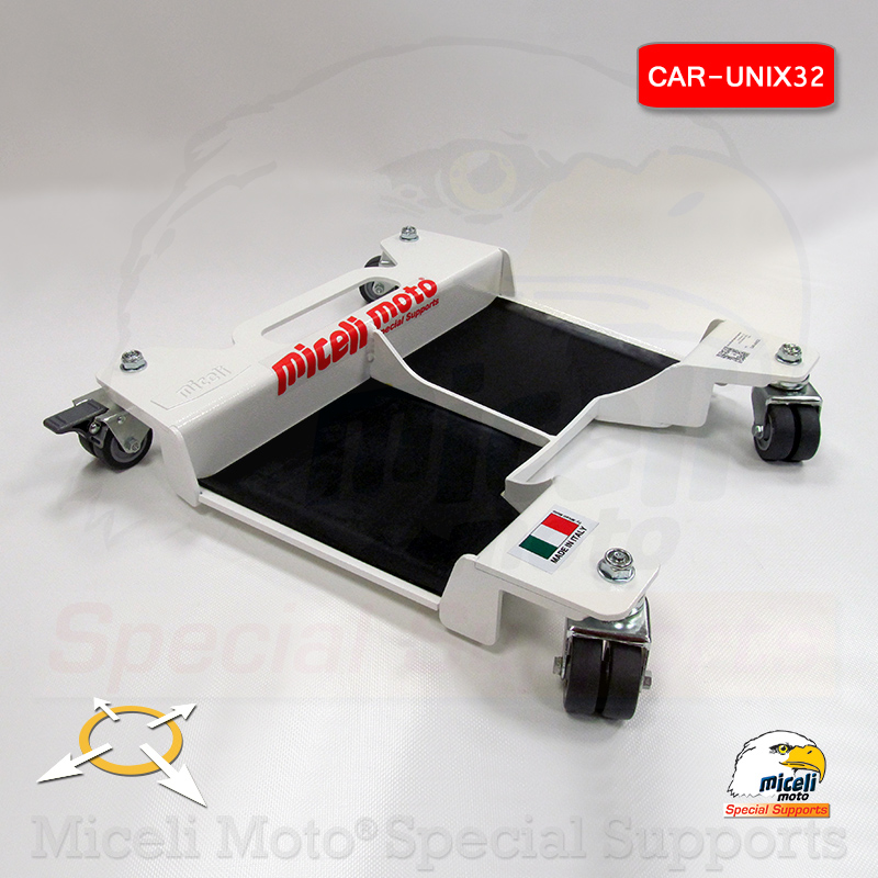 Carrello pedana sposta moto e scooter CAR-UNIX32