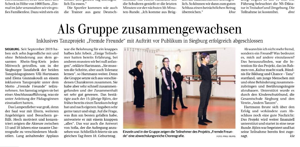 Generalanzeiger Bonn, Abschlusspräsentation